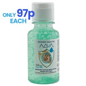 50 x 100ml Scented, Moisturising Sanitiser Gel